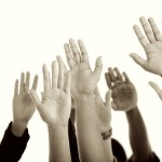 Raised-hands_bw